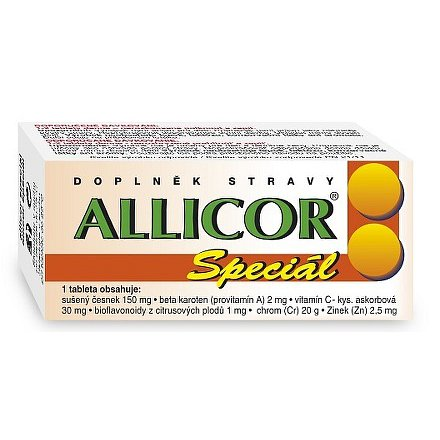 Allicor Speciál tablety 60