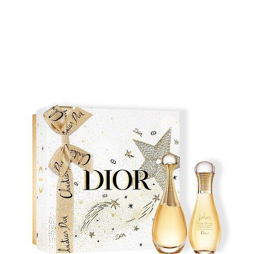 Dior J´adore Eau de parfum 50 ml + Tělový olej J'adore 75ml - Vánoční balení  Dárkový set
