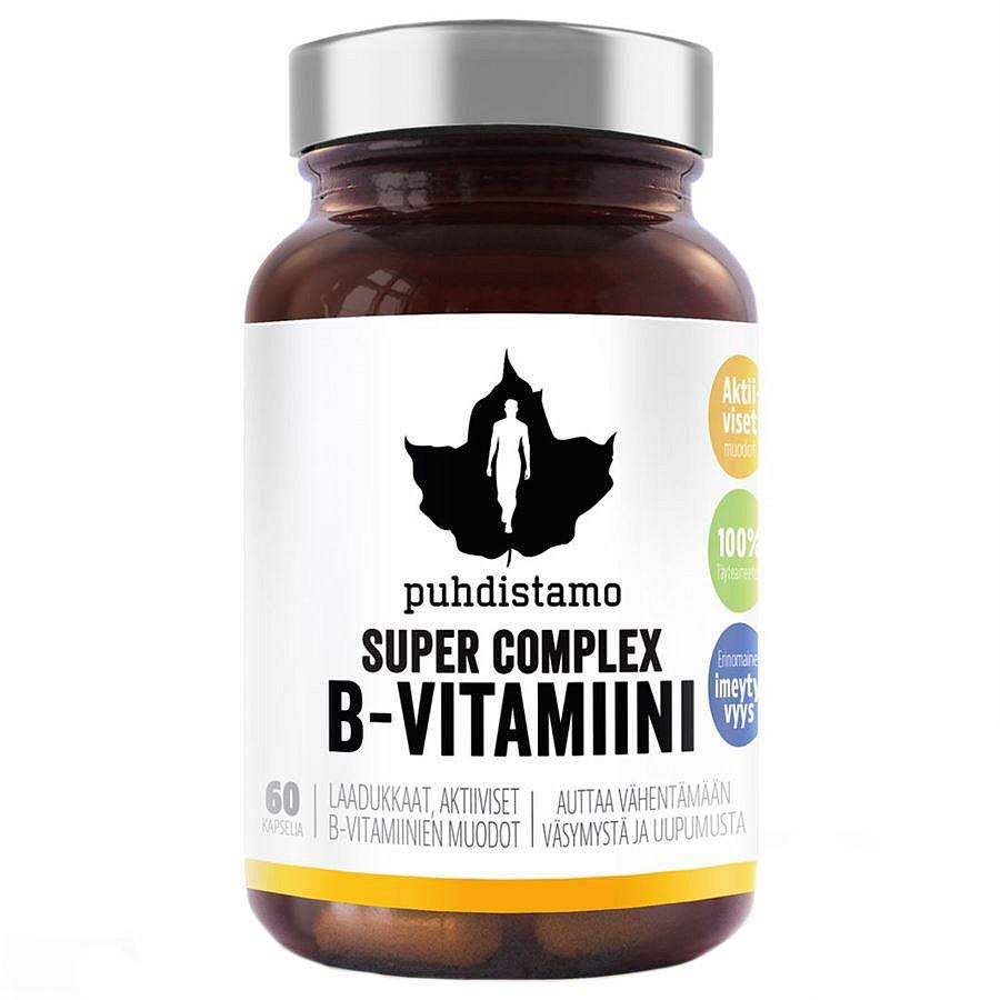 Puhdistamo Super Vitamin B-Complex 60 kapslí