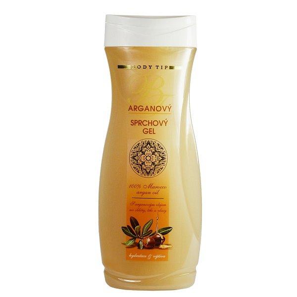 Body Tip Sprchový gel s arganovým olejem 300ml