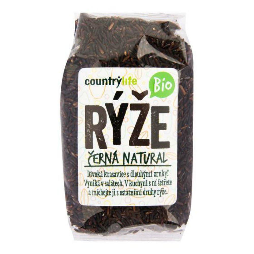 COUNTRY LIFE Rýže černá natural 500 g