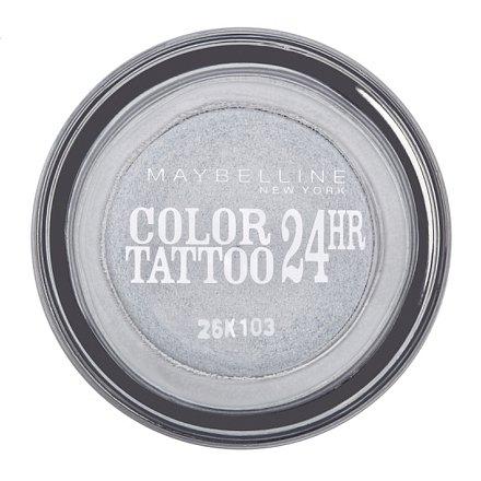 Maybelline Color Tattoo 24hr Eternal Silver 50 oční stíny
