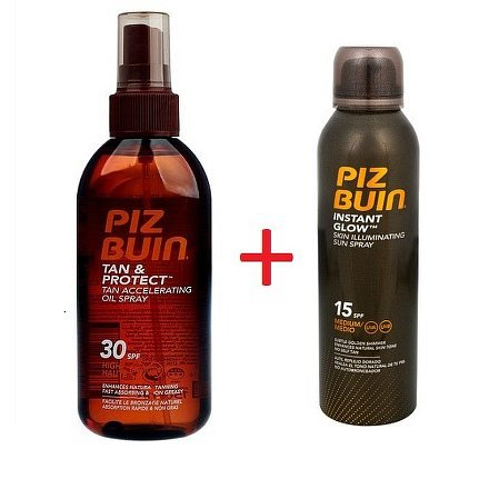 PB Tan+Protect Oil Spray SPF30 150ml + PB INSTANT GLOW Spray SPF15 150ml ZDARMA