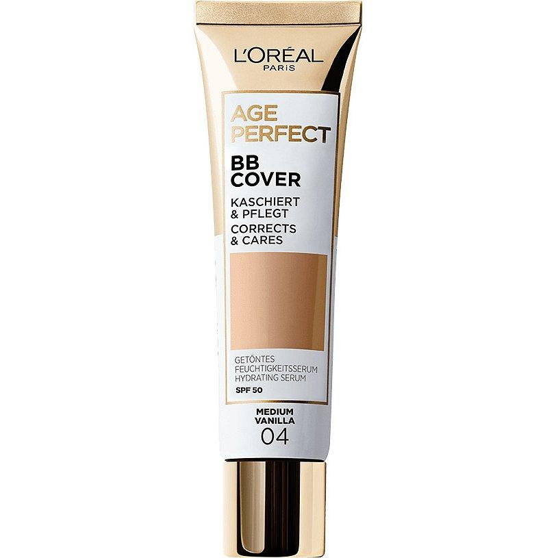 L'Oréal Paris Age Perfect BB Cover, 04 Medium Vanilla 30ml