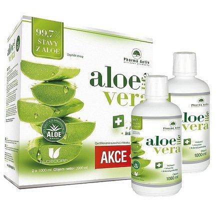 AloeLive šťáva z aloe 99.7% 1000 ml 1+1 ZDARMA