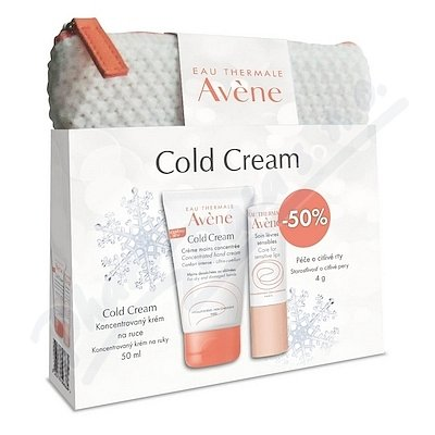 AVENE Cold Cream creme mains 50ml+Stick levres 4g