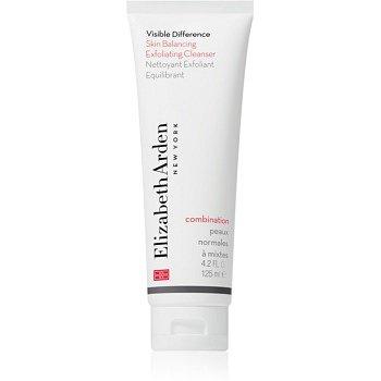 Elizabeth Arden Visible Difference Skin Balancing Exfoliating Cleanser pěnový peeling pro normální až smíšenou pleť  125 ml
