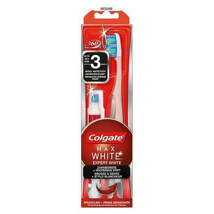 COLGATE Max White Expert zubní kart.+bělící pero