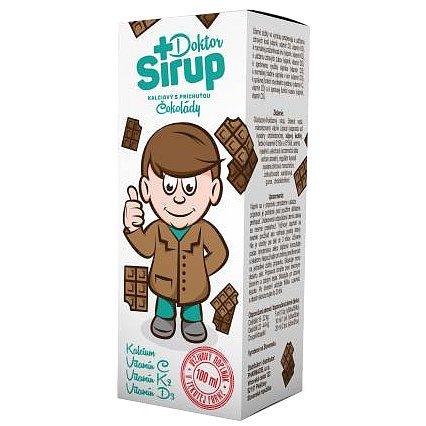 Doktor Sirup kalciový Čokoláda 100ml