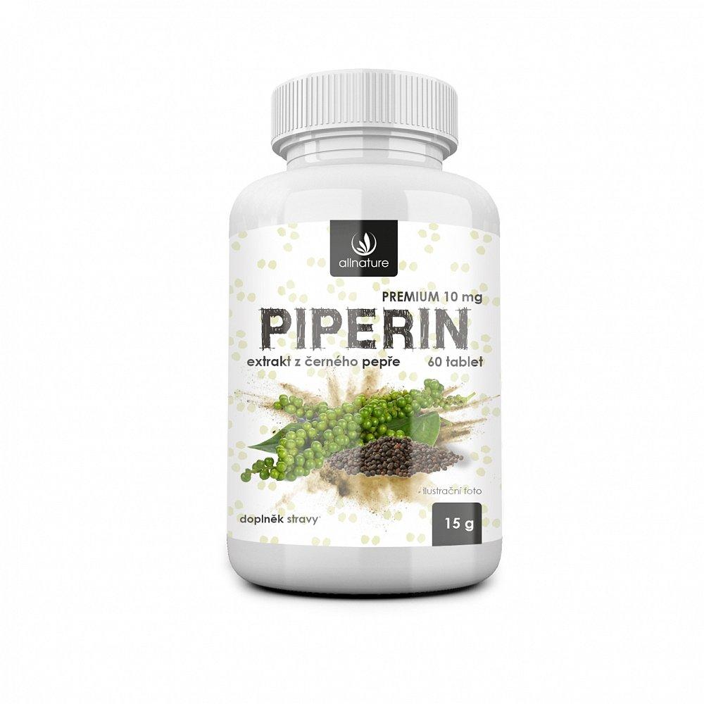 ALLNATURE Piperin 60 kapslí