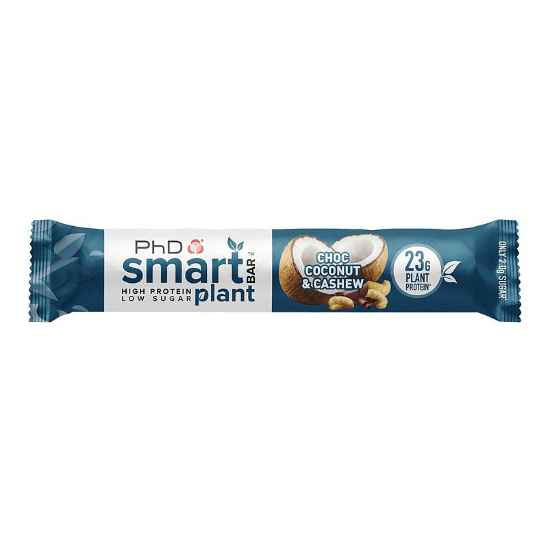 PhD Nutrition Smart Plant Bar choc coconut cashew 64g
