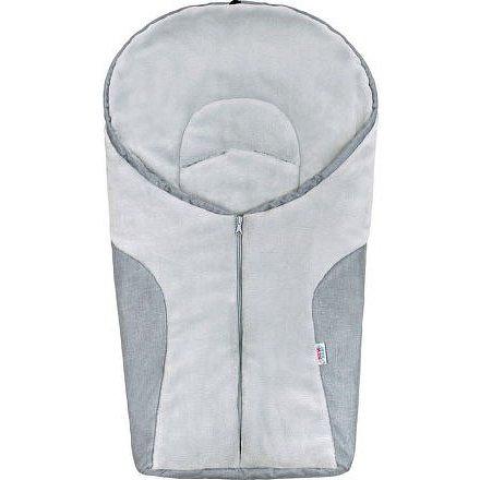 Luxusní zimní fusák New Baby Car light grey