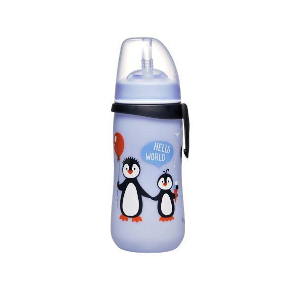 NIP Straw cup láhev s brčkem kluk 330ml