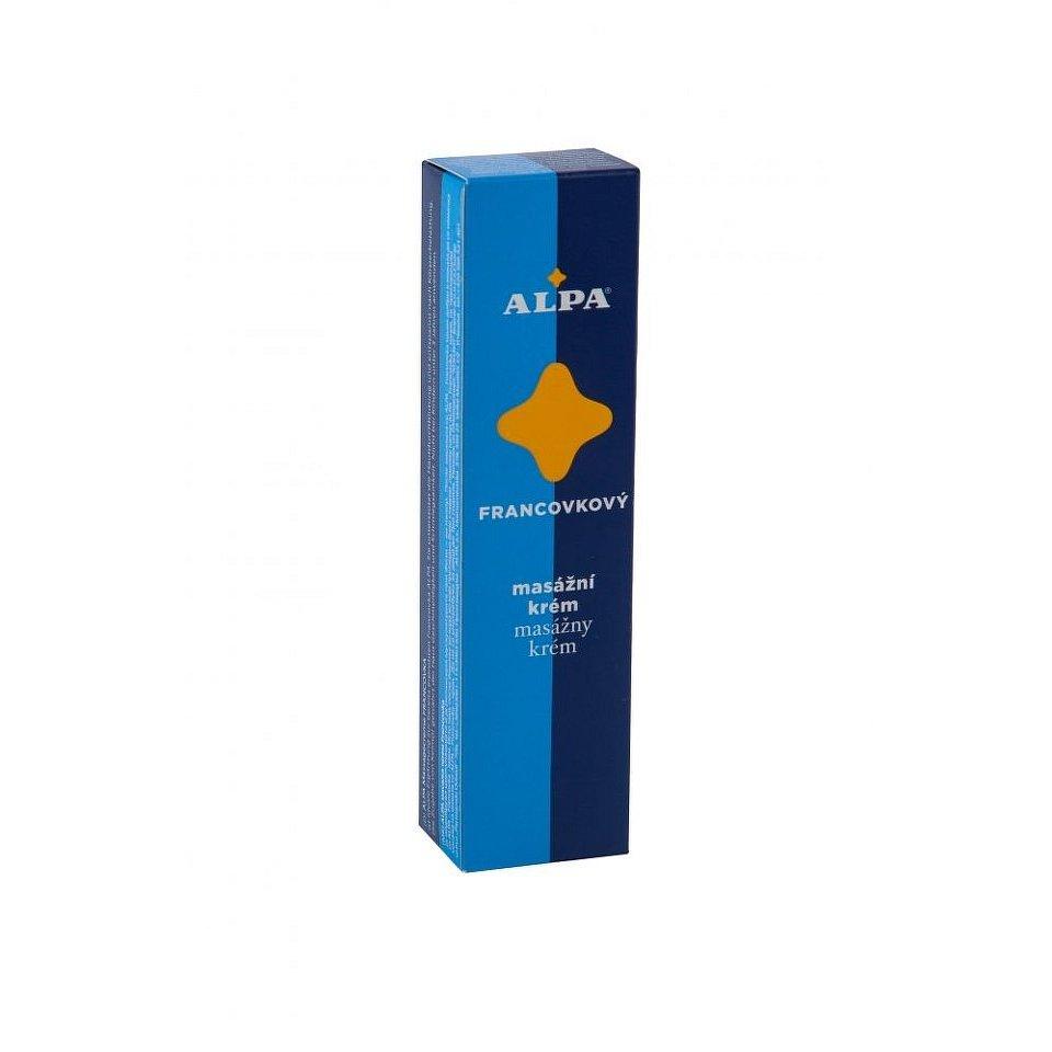 Alpa francovkový masážní krém 40g - II.jakost