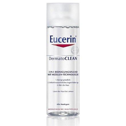 EUCERIN DermatoCLEAN Micelární voda 3v1 200 ml