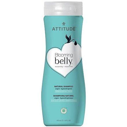 Přírodní šampón ATTITUDE Blooming Belly nejen pro těhotné s arganem 473 ml