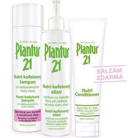 Plantur21 set + BALZÁM zdarma