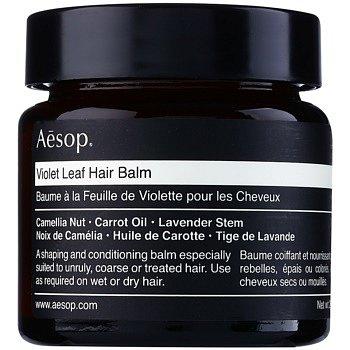Aēsop Hair Violet Leaf tvarující balzám pro nepoddajné a krepatějící se vlasy  60 ml