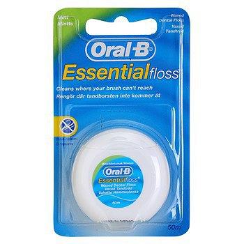 Oral-B dentální nit EssentialFloss Mint Wax 50 m