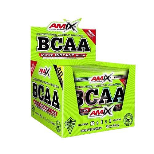 Amix Amix BCAA Micro Instant, Green Apple, 20x10g