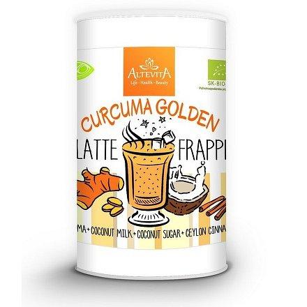 Bio curcuma golden latte/frappe 220g