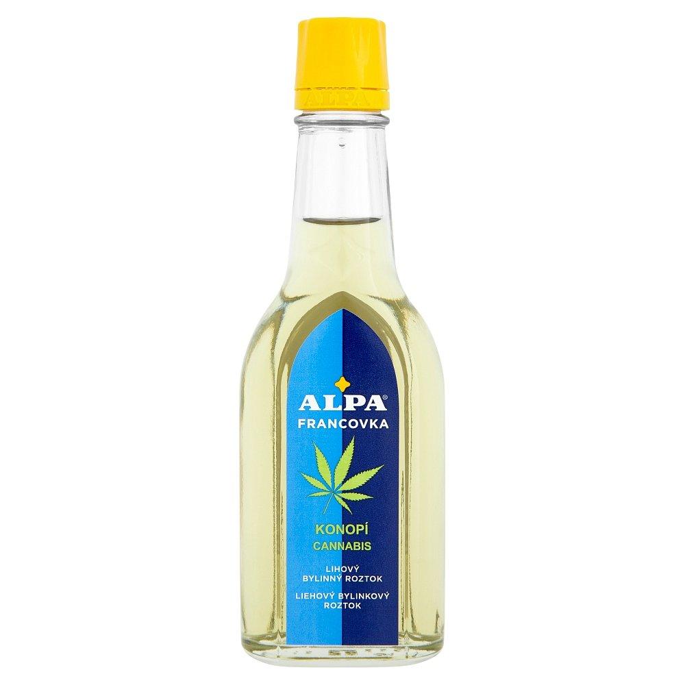 ALPA Francovka Konopí lihový bylinný roztok 60 ml