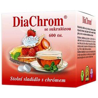 DiaChrom se sukralózou tablety 600 nízkokalor.sladidlo