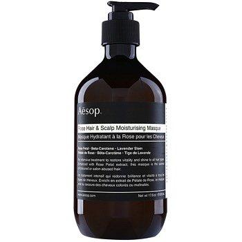 Aēsop Hair Rose hydratační maska na vlasy a vlasovou pokožku  500 ml