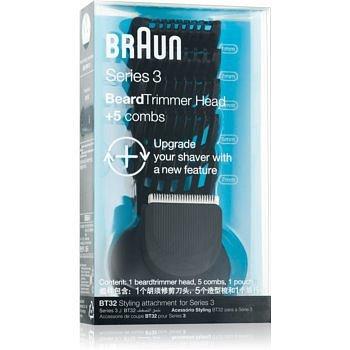 Braun Series 3  Shave&Style BT32  hlava zasrtřihovače + 5 nástavců