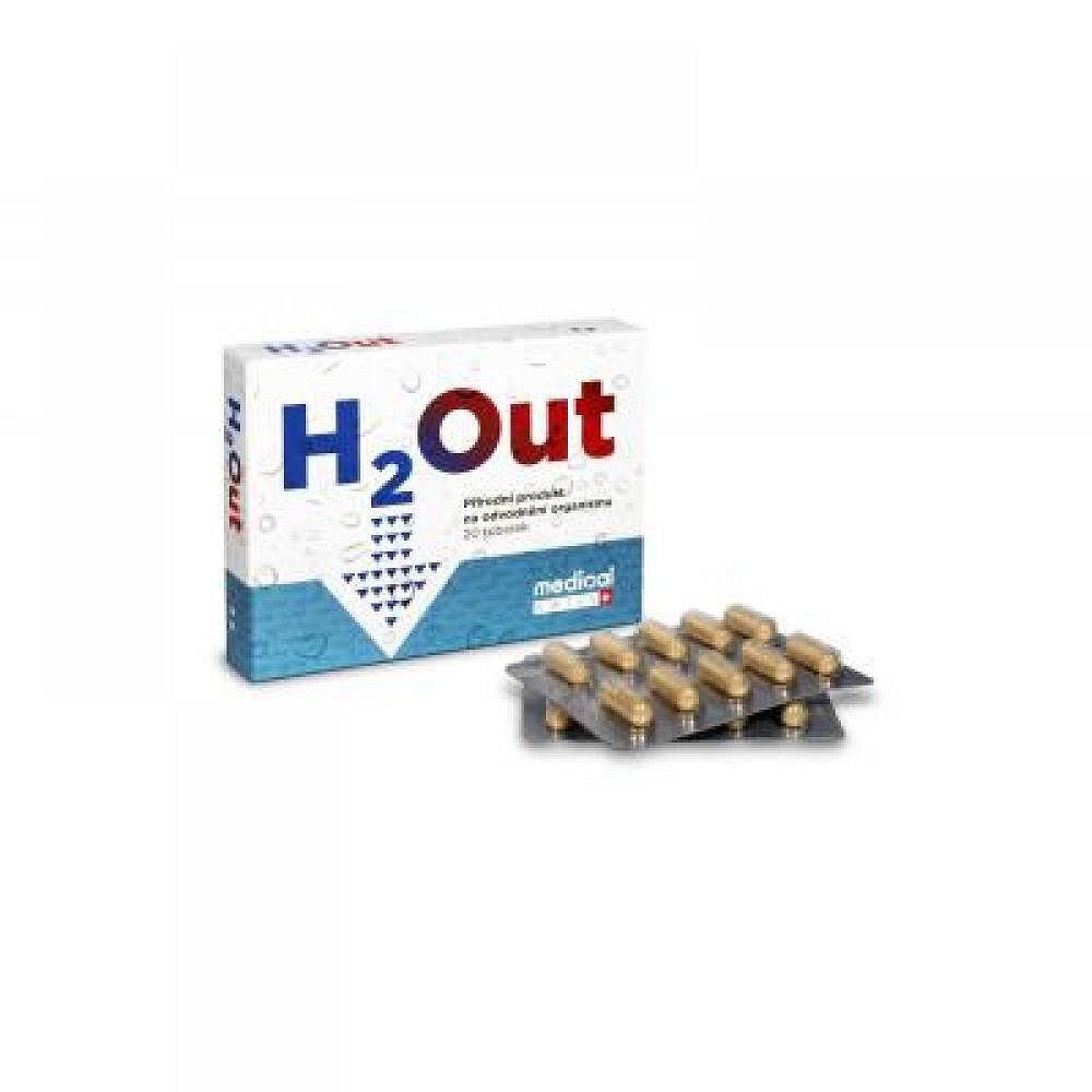 H2Out pro odvodnění organismu 20 tobolek, poškozený obal