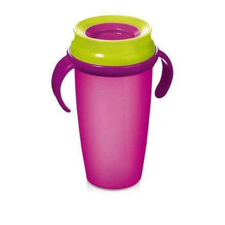 Hrníček LOVI 360 ACTIVE 350ml bez BPA růžový