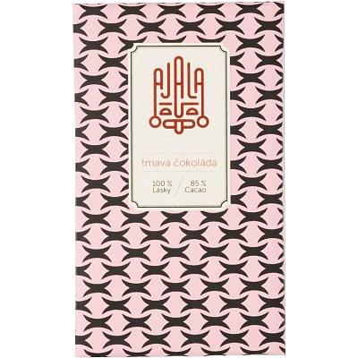 Ajala Bio čokoláda 85% tmavá výběrové boby 45g