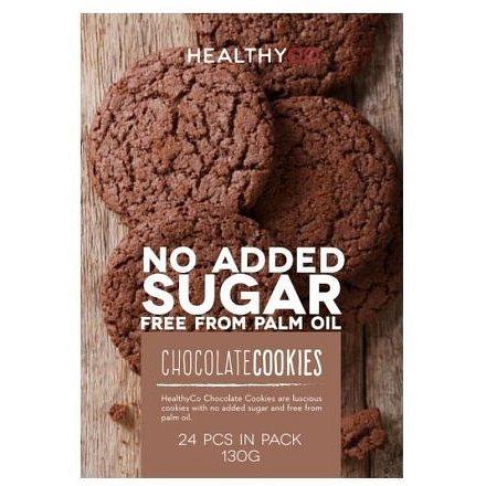 HealthyCo Čokoládové cookies 130g