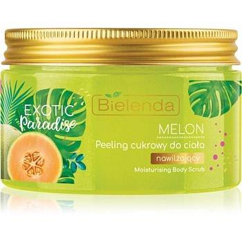 Bielenda Exotic Paradise Melon hydratační cukrový peeling 350 g