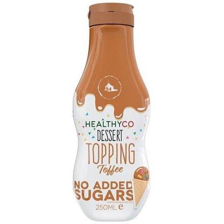 HealthyCo Sirup s příchtí Toffee 250ml