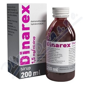 Dinarex 1,5 mg/ml sirup 200 ml