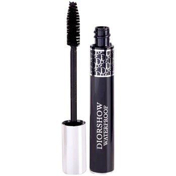 Dior Diorshow Mascara Waterproof voděodolná řasenka pro prodloužení, natočení a objem odstín 090 Black 11,5 ml