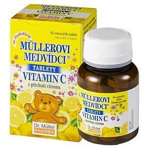 Müllerovi medvídci s vitamín C a přích.citronu tablety 45