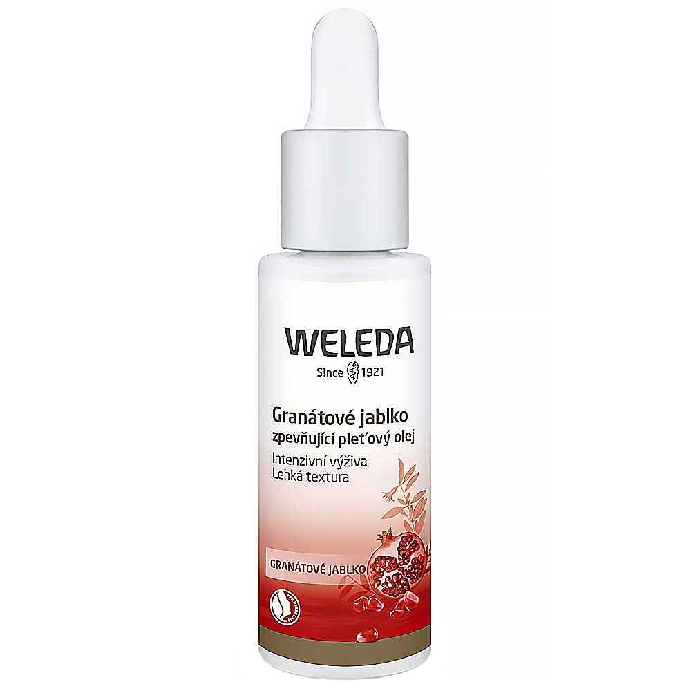 WELEDA Granátové jablko Zpevňující pleťový olej 30 ml