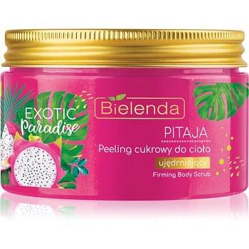 Bielenda Exotic Paradise Pitaya cukrový peeling se zpevňujícím účinkem 350 g