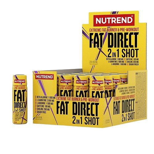 Fat Direct 2 in 1 Shot 20x60ml