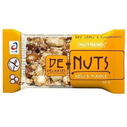 Denuts Ořechová tyčinka 35g Kešu&Mandle