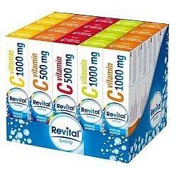Revital Display MIX Vitaminy C 20x20 šumivých tablet