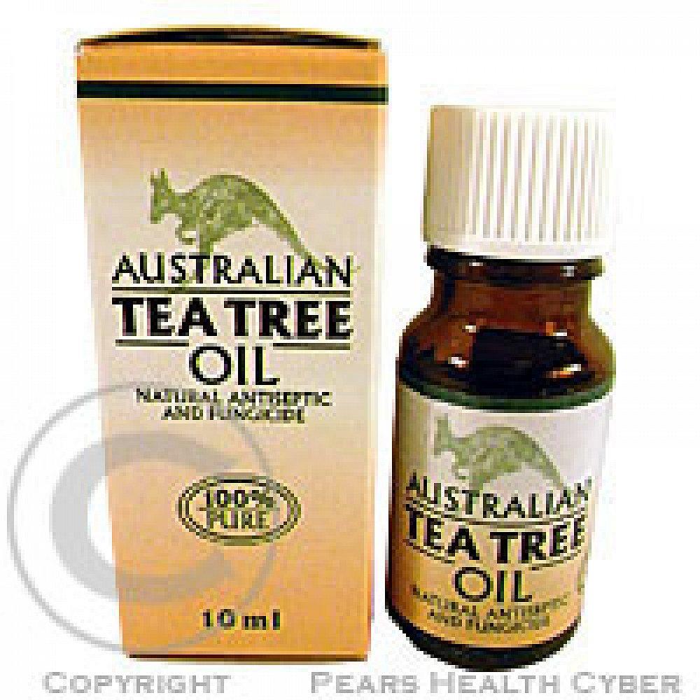 Australian Tea Tree oil 100% čistý olej 10 ml, poškozený obal