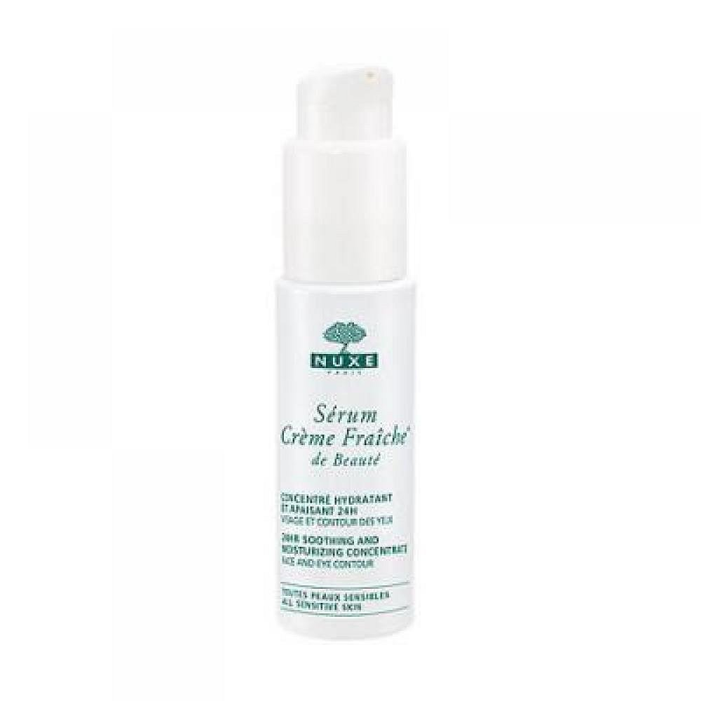 NUXE Serum Creme Fraiche 24hr Soothing Concentrate pro všechny typy pleti 30 ml