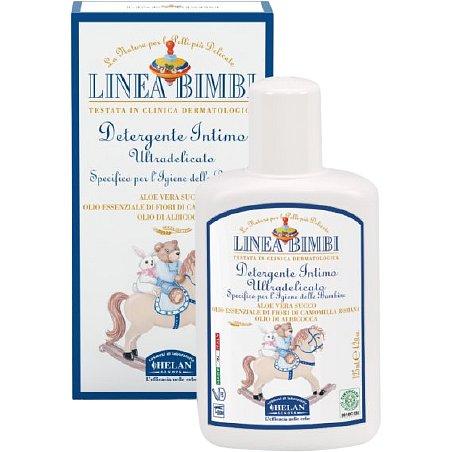 Helan Linea Bimbi Intimní mycí bio gel pro dívky ultra jemný 125ml