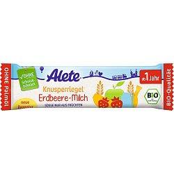 Alete BIO Tyčinka jahodovo-mléčná 12m+ 25 g