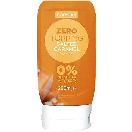 Bodylab Zero Topping Syrup 290 ml slaný karamel
