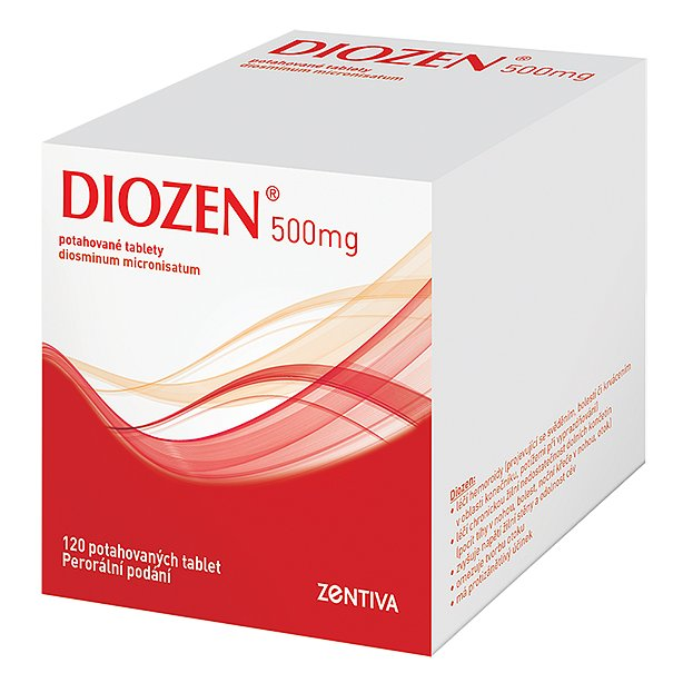 Diozen 500mg tablety 120ks
