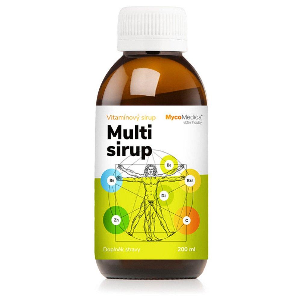 MYCOMEDICA Multi sirup 200 ml